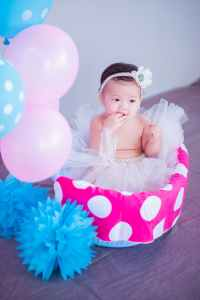 adorable baby balloons birthday